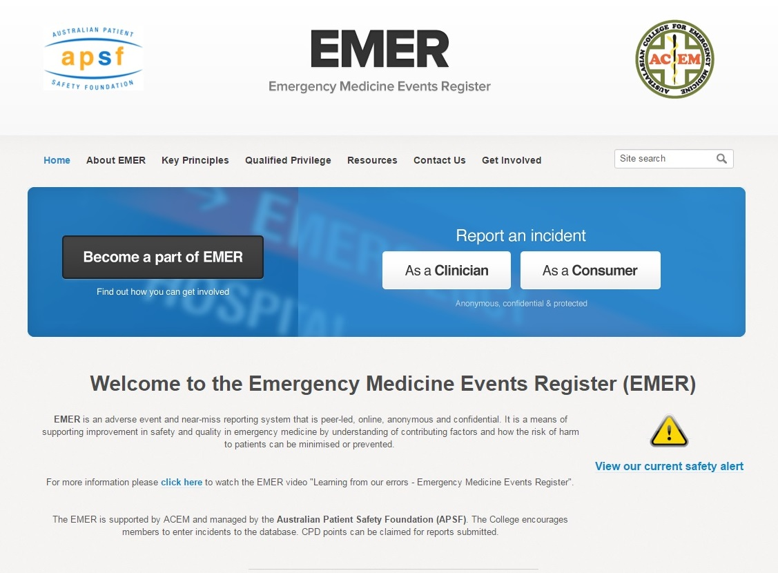 EMER: How consumers & clinicians can improve patient